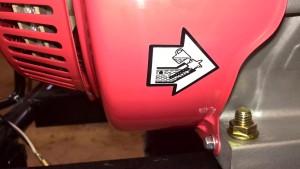 Двигатель Хонда уровень масла