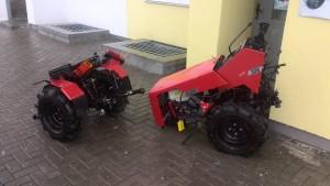 разобранный трактор беларус 132Н