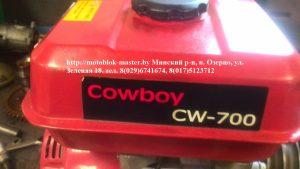 Двигатель для мотокультиватора Ковбой CW 700