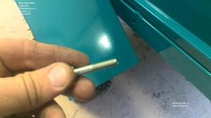 Крепление крыла мотоблочного прицепа