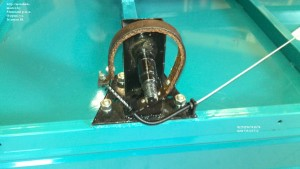 Установка тормозного троса прицеп МП 600
