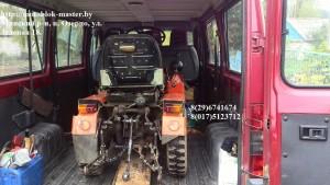 перевозка мини-трактора