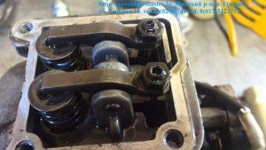 10. регулировка клапанов двигатель Робин ено 35