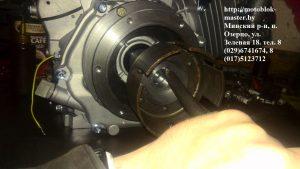 установка барабана сцепления двигатель магнум
