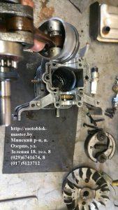 сборка двигатель робин ено 35 субару