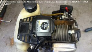 разборка двигатель Субару мотокультиватор Нева