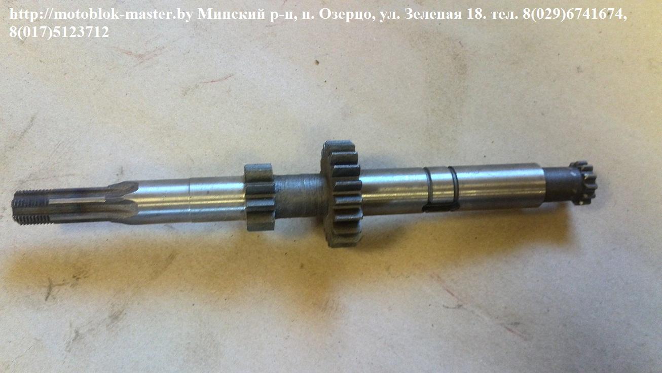 Минитрактор МТЗ 132Н, ремонт сцепления.
