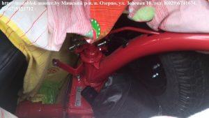 12. погрузка мотоблока мтз в лада ларгус