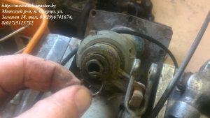 12. стопорное кольцо вертикально вала включения реверса мотоблок мтз