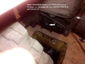 боковая крышка КПП мтз 132н