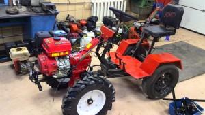 Мини-трактор из мотоблока