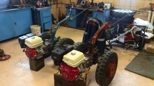 Замена двигателя МТЗ 05, двигатель GX 270