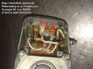 Подключение электронного блока магнето М 151 А