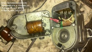 Подключение электронного блока магнето м 151