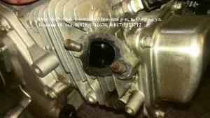 Двигатель Хонда GX масло в выхлопе