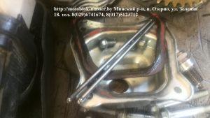 Прокладка на герметике, двигатель Вейма.