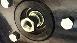 Прицеп МП 600 крепление колеса