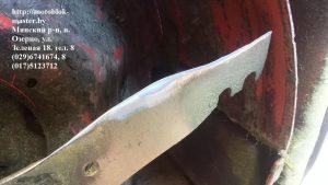 Косилка Хускварна заточка ножей