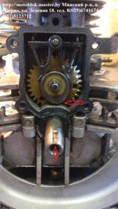 сбиты метки на коленвале двигатель Робин ено 35