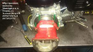установка фланца мтз на двигатель магнум