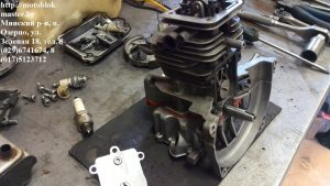 сборка двигателя робин ено 35 субару