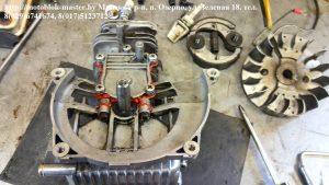 Маховик двигатель робин ено 35 субару