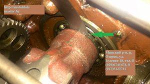 мтз 12 оставляем зазор между подшипником и корпусом дифференциала