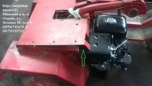 мотоблок мтз подгонка приставки двигателт Хонда