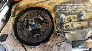 14. бензопила штиль замена пружин сцепления