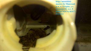 7. грязь в топливном баке, бензопила штиль