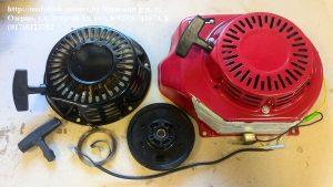 Стартер двигатель Хонда, детали двигателя