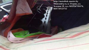 Бульдозерное оборудование для мотоблока мтз