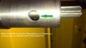 привод фрезы мини-трактор мтз 082