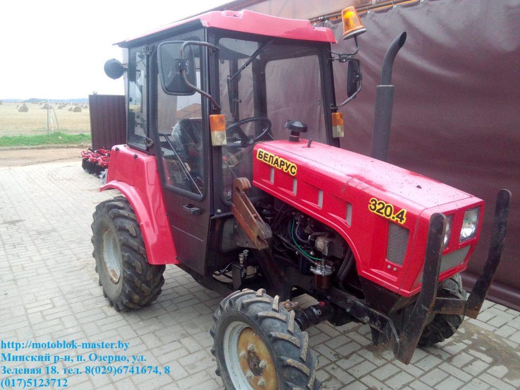 ремонт малогабаритных тракторов Беларус серии 320